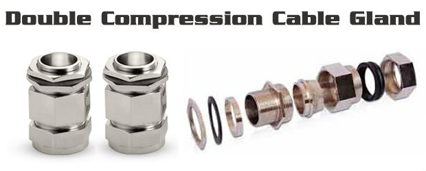 Double Compression Weatherproof Cable Gland