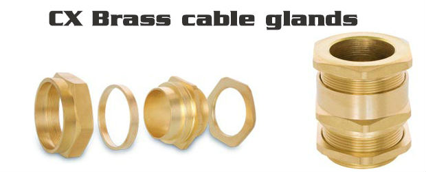 CX Brass cable glands
