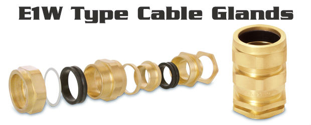 E1W Type Cable Glands